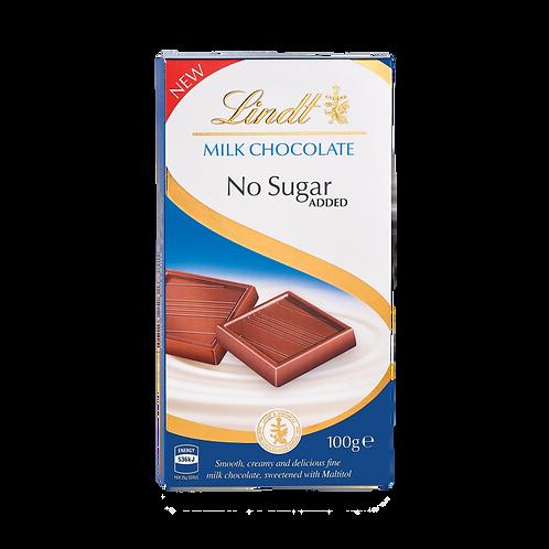 Lindt milk chocolate sugar free
