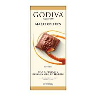 Godiva masterpieces caramel