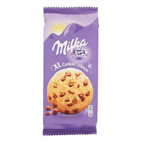 Milka chocolate chips cookies