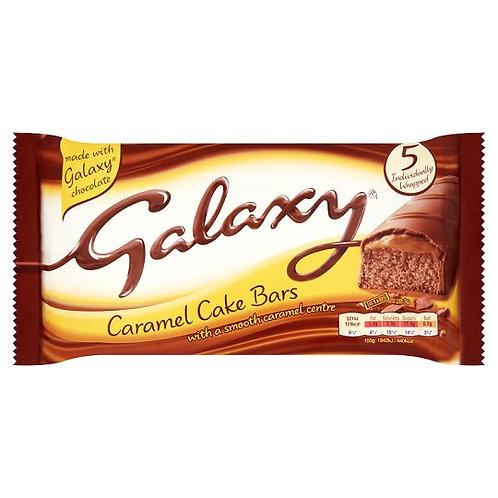 Galaxy cake caramel