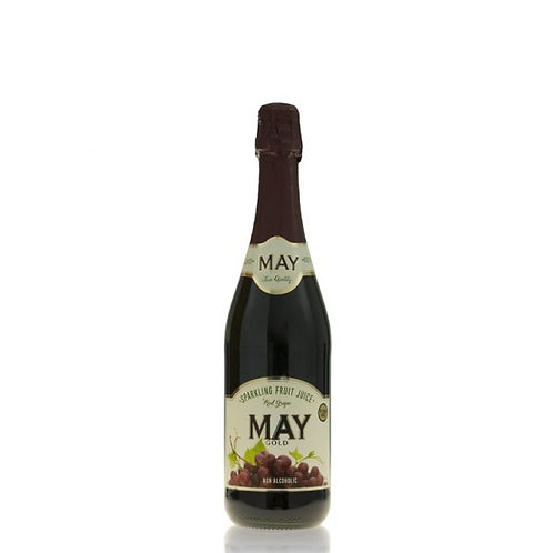 May Sparkling Red Grape Juice May 750ml