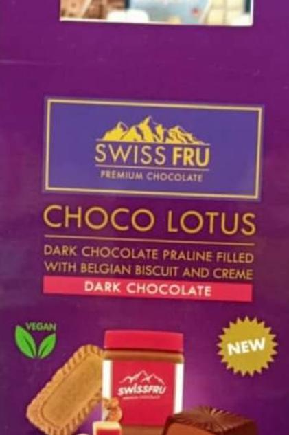 Choco Lotus Dark chocolate gift box