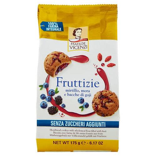 Cookies Matilde Vicenzi Fruttizie blueberry, blackberry and goji berries 175 g