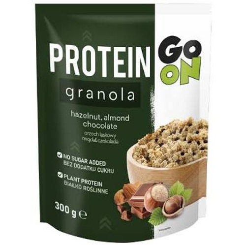 Go On protein Granola hazelnut, almonds and chocolate sugar free