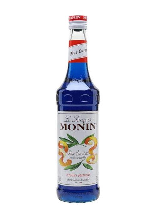 Monin blue curacao syrup