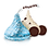 Thumbnail: Hershey's Kisses  White Chocolate with Cookie