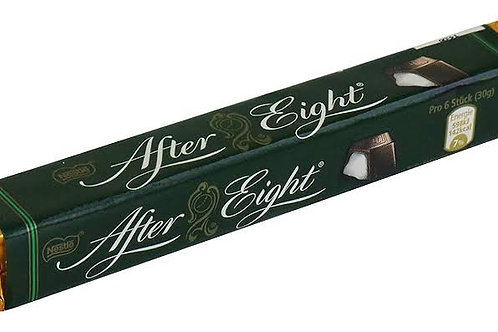 After eight chocolate bar
