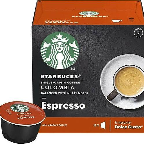 Starbucks Colombia Espresso capsules dolce gusto