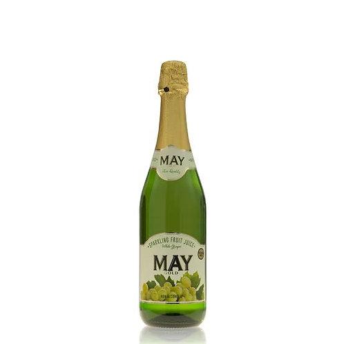 May Sparkling White Grape Juice 750ml