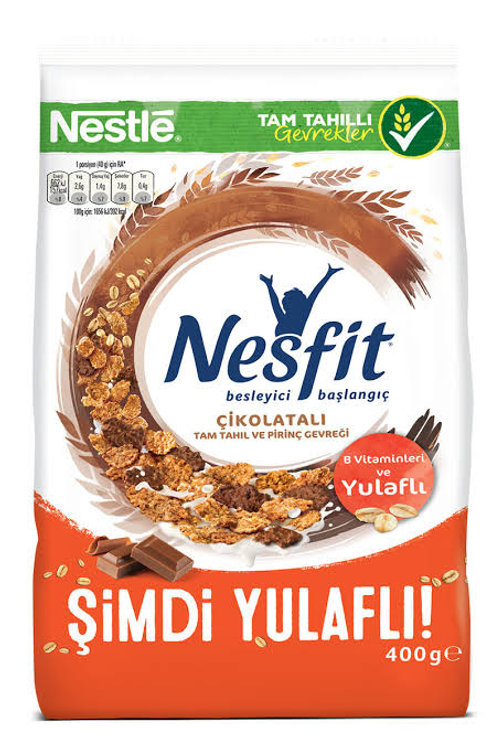 Nestle Nesfit Wheat and Rice Flakes with Chocolate 400 g