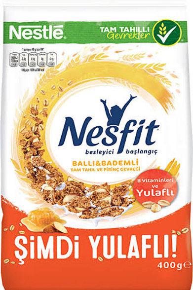 Nesfit honey & almonds cereal bag 400 g