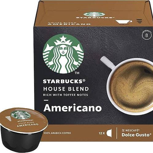 Starbucks House Blend Americano Capsules dolce gusto