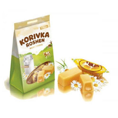 Roshen korivka milk sweets