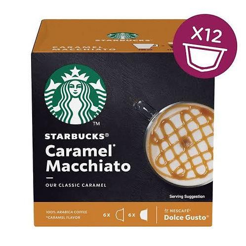 Starbucks caramel macchiato dolce gusto capsules