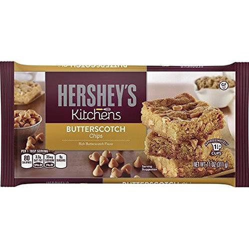 Hershey's butterscotch chocolate chips 326 g