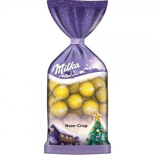 Milka Christmas balls nuts & crisp