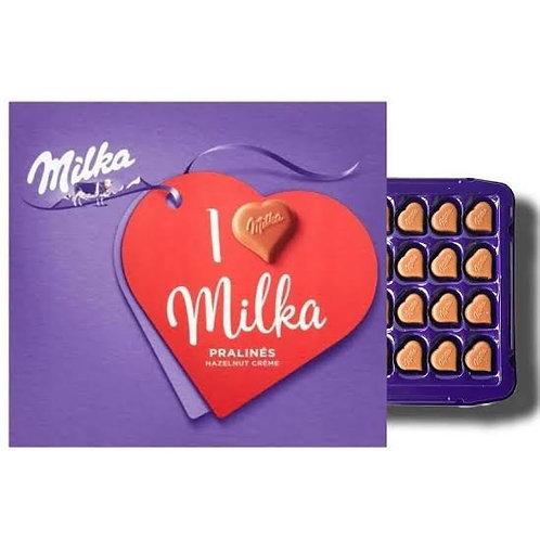 I love milka chocolate box
