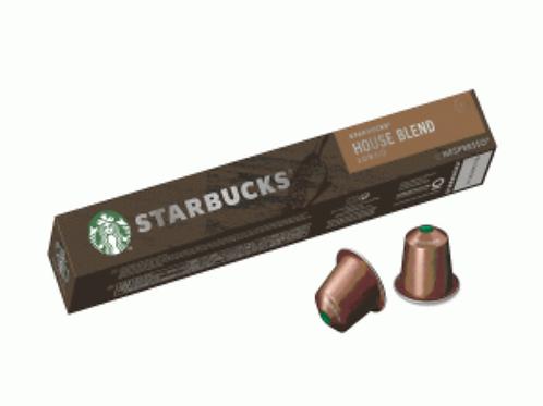 starbucks house blend capsuls espresso