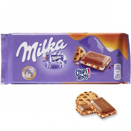 Milka cookies chocolate