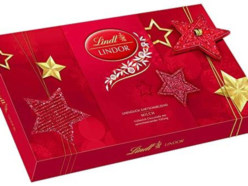 Lindt lindor chocolate red box