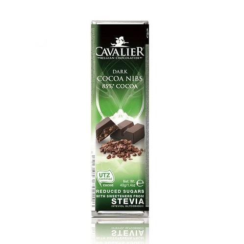 Cavalier dark cocoa nibs 85%