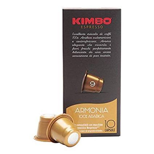 Kimbo armonia 100% arabica capsules