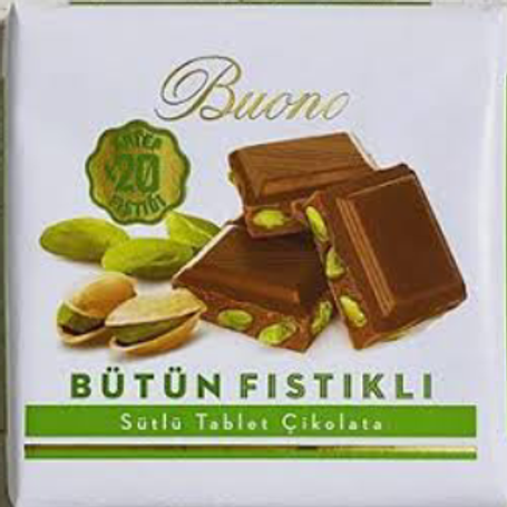 Buono milk chocolate pistachio
