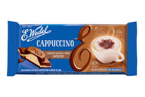 E. Wedel cappuccino milk chocolate