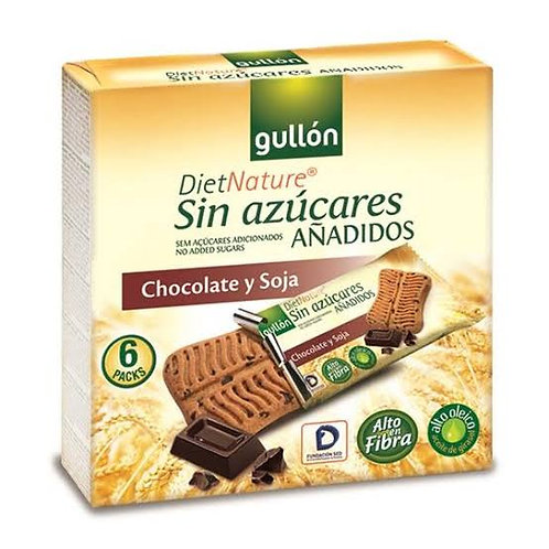 Gullon sugar free Diet Nature chocolate and soy snack