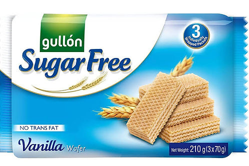 Gullón sugar free vanilla wafers