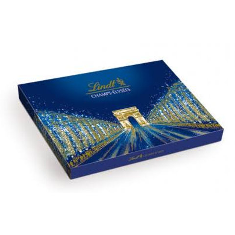 Lindt assorted chocolate blue box