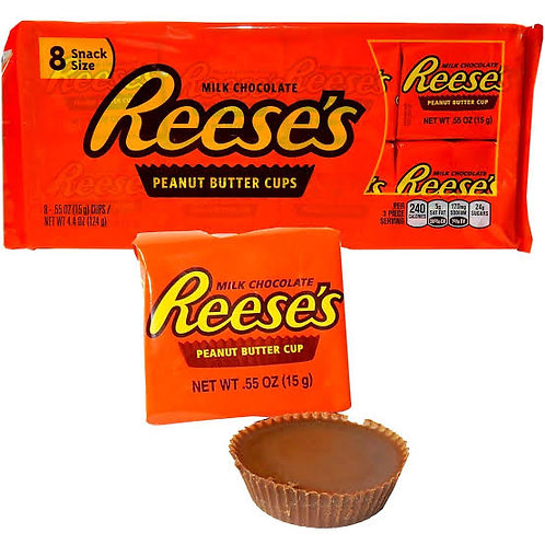 Reese's 8 peanut butter cups