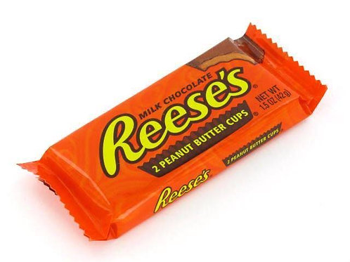 Reese's chocolate 2 peanut butter cups