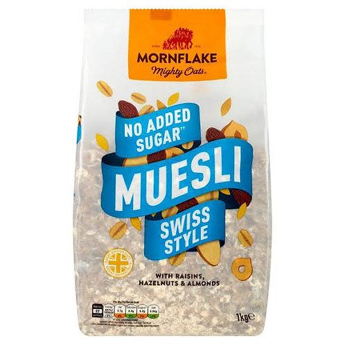 Mornflake Classic Swiss Style Muesli No Added Sugar