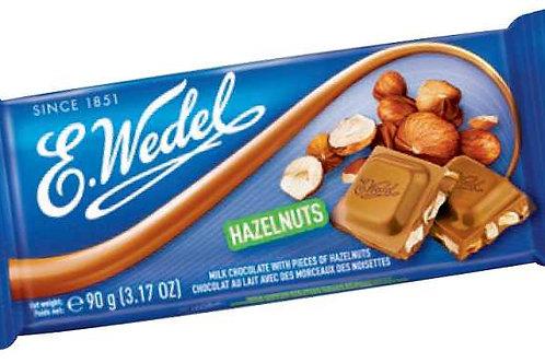 E. Wedel milk chocolate with hazelnuts
