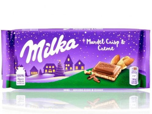 Milka Almond Crisp & Creme