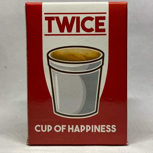 Twice cup of happiness ( Oreo )