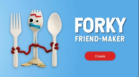 Forky Friend Maker
