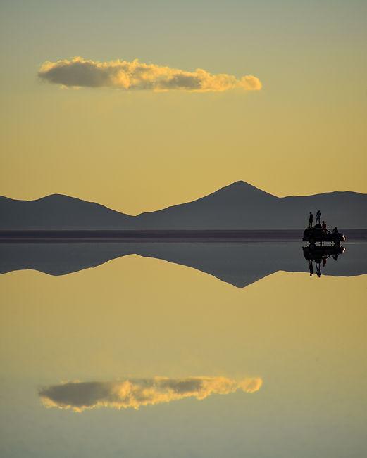 Uyuni Bolivia Sunset