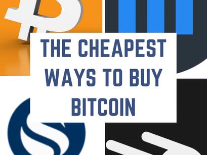 The Cheapest Ways to Buy Bitcoin: Coinbase Pro vs Swan vs Strike vs Cash App