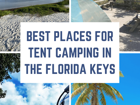 Best Places for Tent Camping in the Florida Keys