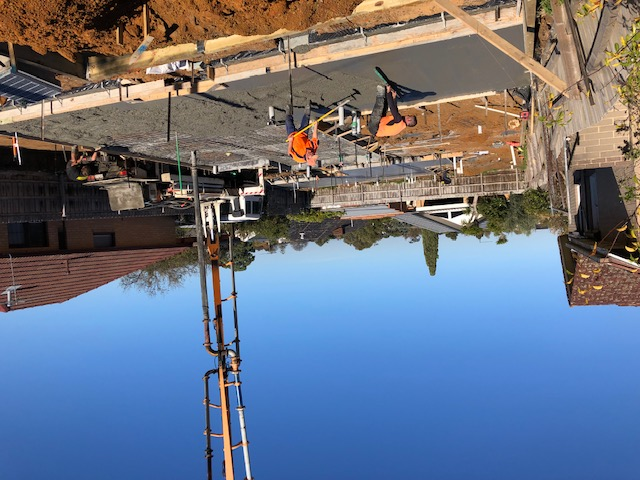 Oakleigh East Slab concreting1
