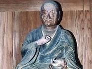 槻木大師堂の弘法大師像