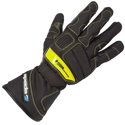 Spada Storm WP Gloves Black/Hi-Viz