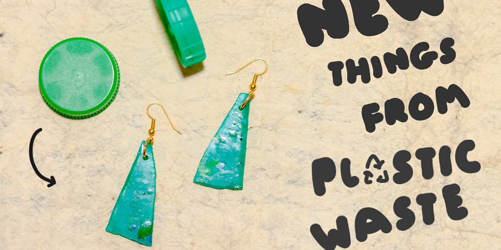 Make something new from plastic waste