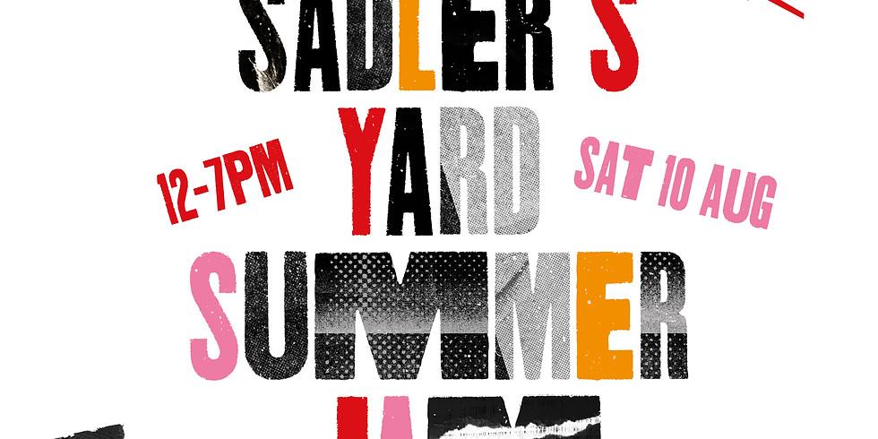 Plastic Shed at Sadler's Yard Summer Jam