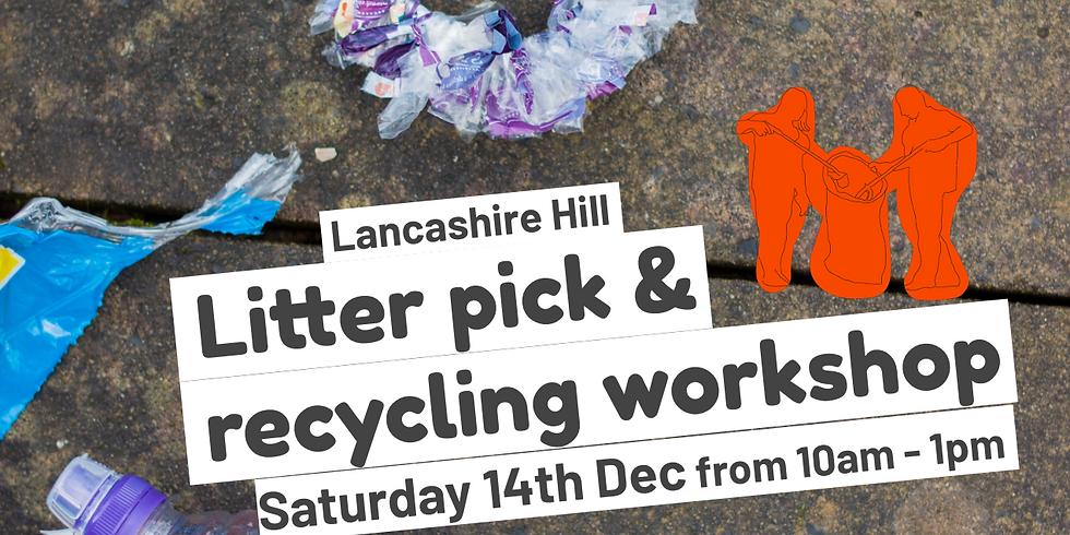 Lancashire Hill Recycling workshop