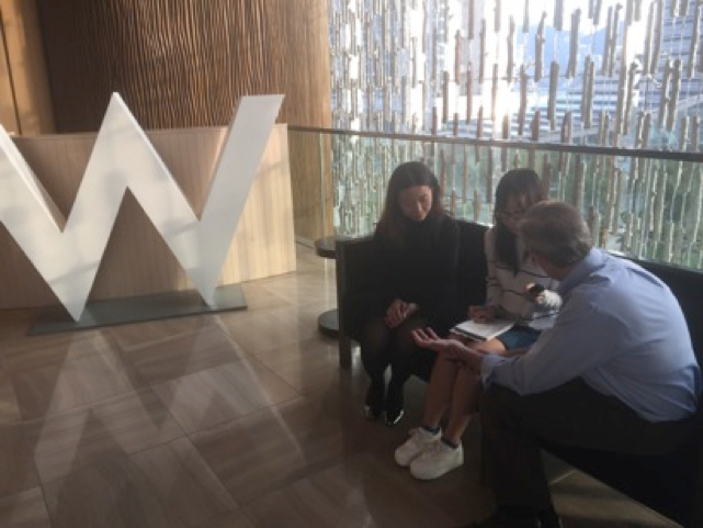 W Hotel Interview