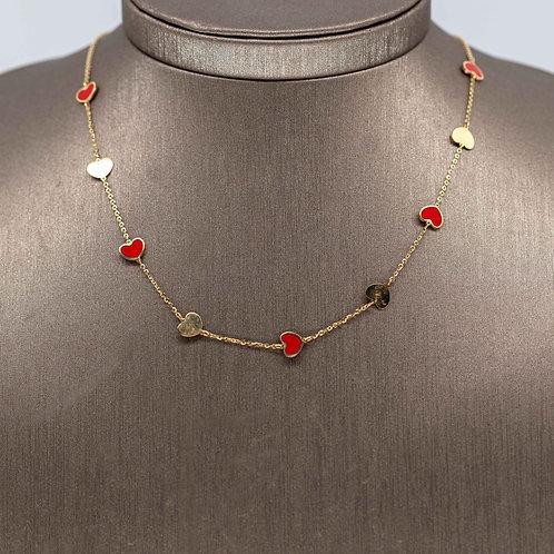 Italian Heart Necklace