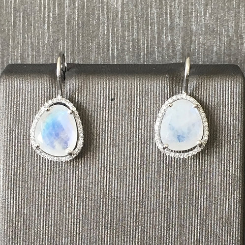 Moonstone Slice Single Drops
